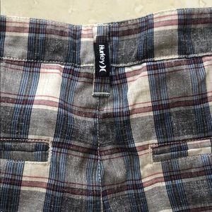 Hurley Shorts - Hurley walking shorts. Plaid